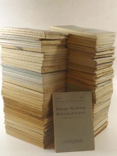 Polski Słownik Biograficzny, 135 zeszytów