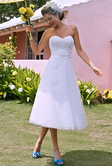 Galina tea lenth dress - Sherry, this is cute.