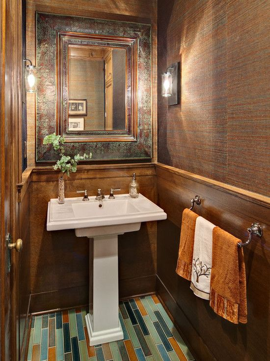 Best Powder Room Ideas Images On Pinterest Bathroom Ideas