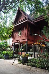 シルク王のジム・トンプソンの邸宅。ザ・ジムトンプソン・ハウス。タイのおすすめ観光名所