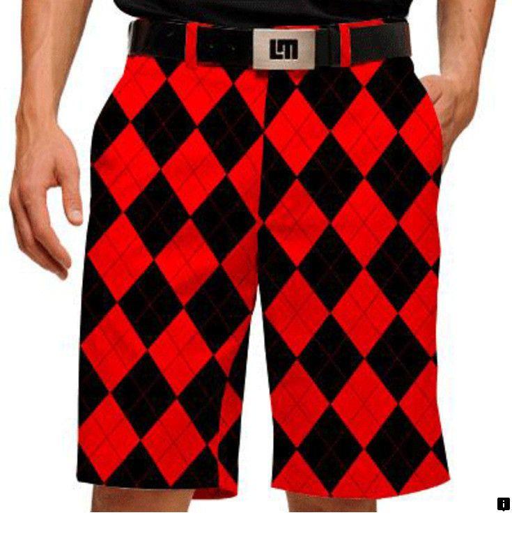 Loudmouth South Carolina Gamecocks Men/'s Shorts Large