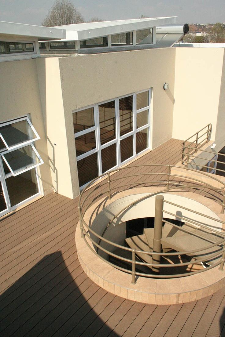 Eva-tech Rusteak #deck at Edenvale Office Park. http://www.eva-tech.com/en/