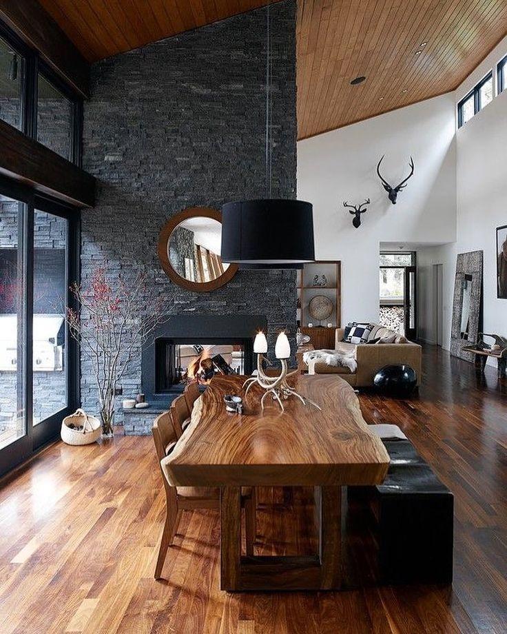 Die besten 25+ Hütten Interieur Design Ideen auf Pinterest - team 7 küche gebraucht