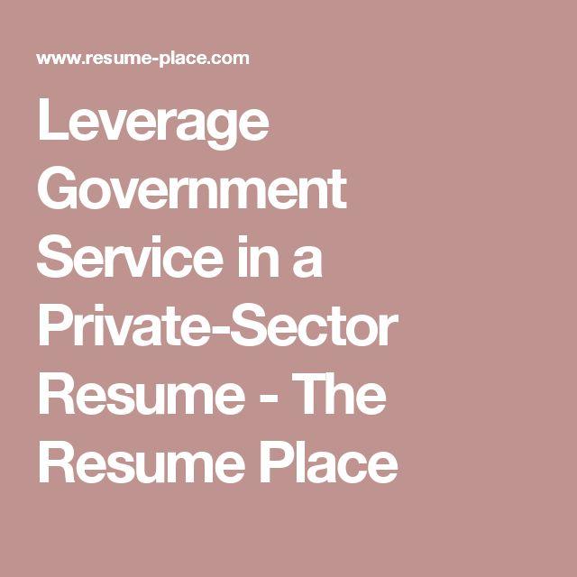 25+ parasta ideaa Pinterestissä Private sector - the resume place