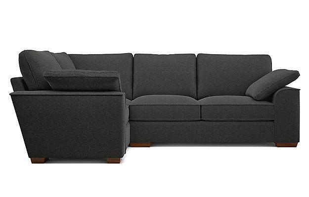 Nantucket Extra Small Corner Sofa Left Hand Small Corner Sofa Corner Sofa Grey Corner Sofa