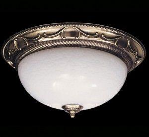 Napoleonic I Collection 15.5″ Dia Medium Traditional Flush Mount Ceiling Light