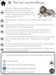 Short Passage Apps for Reading on iPads