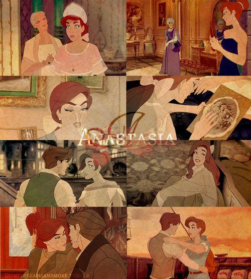 Anastasia! Even though she isn't a Disney princess, she's my favorite princess.
