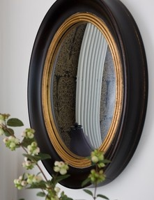 Fish eye convex mirror - a complete bargain at Rose & Grey.