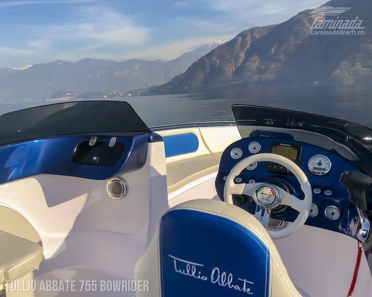 Tullio Abbate 755 Bowrider Swiss Edition #tullioabbate #abbate #bowrider #motorboot http://www.caminadawerft.ch/boote/tullio-abbate-755-bowrider/   👍 CaminadaWerft Händler für Neu- und Gebrauchteboote in der Schweiz  #bern #sion #stgallen #genf #geneva #stgallen #sanktgallen #chur #lausanne #LagodiLugano #Baldeggersee #Walensee #LacLéman #motorboat #motorboote #werft #bootswert #schweiz #suisse #svizzera #switzerland