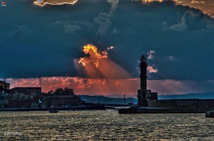 Morning in Hania ,Crete Greece