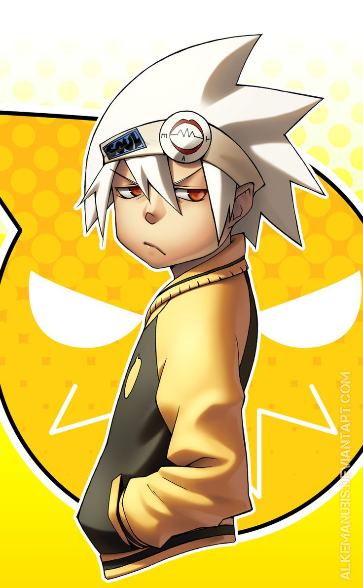 Soul from Soul Eater, is my favorite anime character of day 14 because no other person is named after a soul and eats souls for a job.