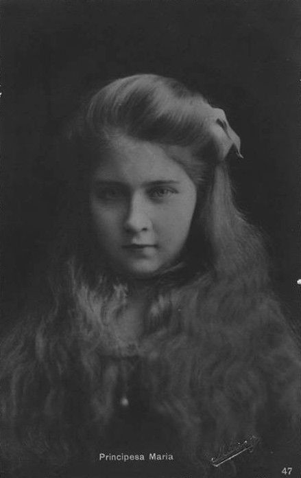 "Princess Marie ""Mignon"" of Romania, later queen of Yugoslavia. Early 1910s."
