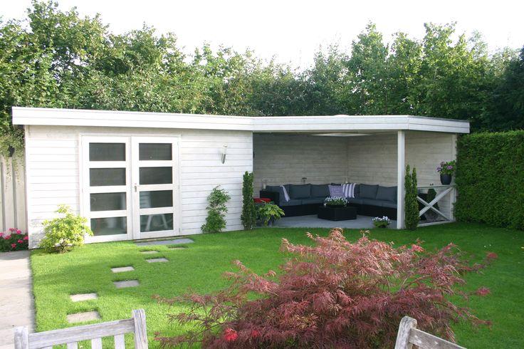 Garage Met Veranda : Tuinhuizen veranda ecosia