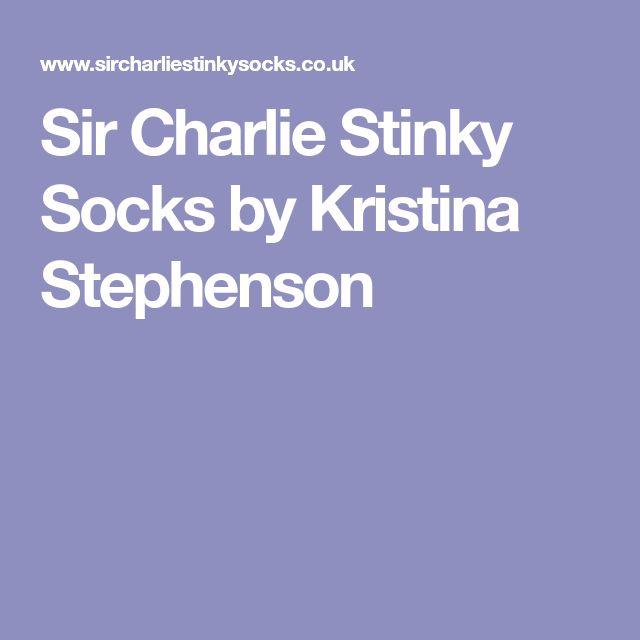 Sir Charlie Stinky Socks by Kristina Stephenson
