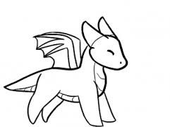 Image result for easy dragon drawing