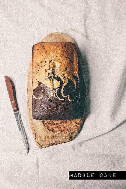marble pound cake |