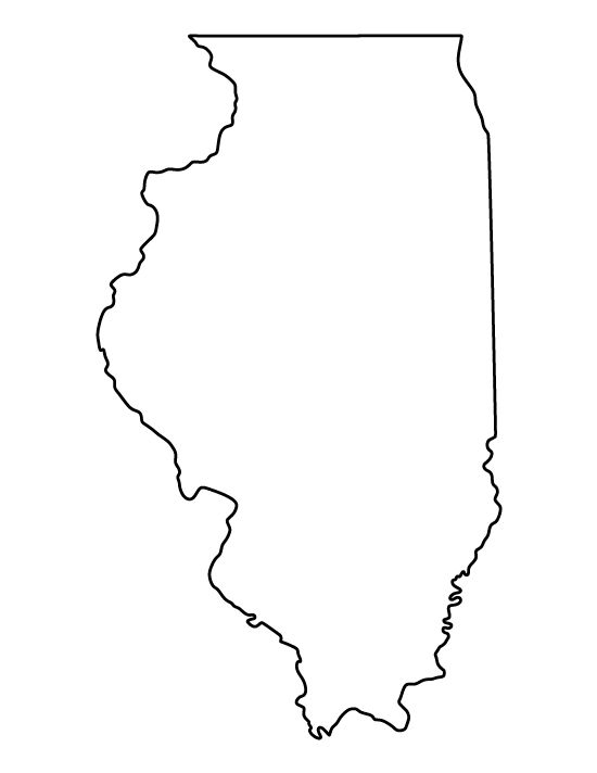 Illinois Pattern Use The Printable Outline For Crafts