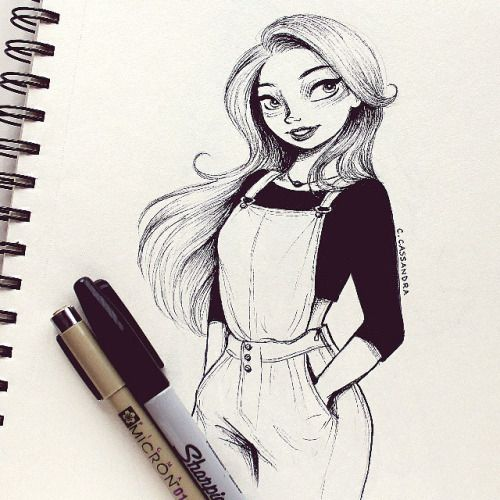 ink girl- Cassandra Calin