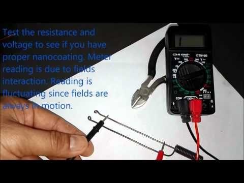 Blueprint Lesson 4 - Plasma Capacitor Making - YouTube プラズマキャパシターのナノコートの実演