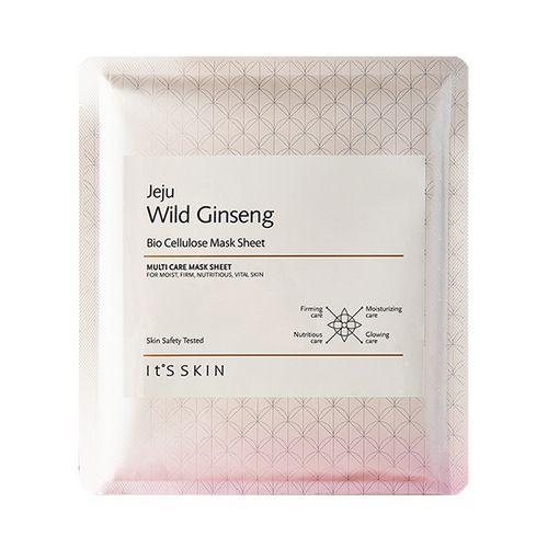 It's skin Jeju Wild Ginseng Bio Cellulose Mask Sheet 1ea Features Bio Cellulose…