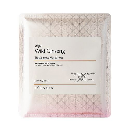 It's skin Jeju Wild Ginseng Bio Cellulose Mask Sheet 1ea Features Bio Cellulose…