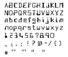 micr font character guide - Google Search