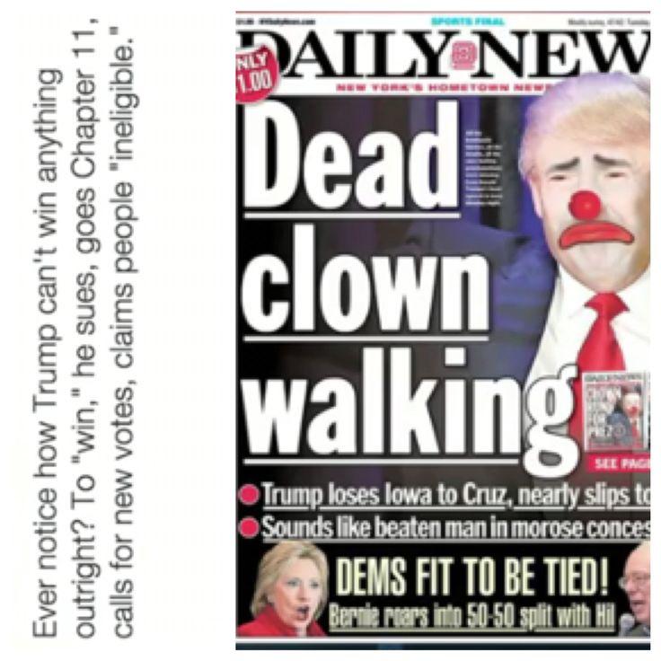 Lumpy Trumpy | 2016 Politics Today | Pinterest