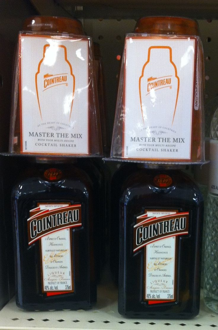 Cointreau On-Pack Gift Promotion- Cocktail Shaker - Promotional Products. ODM Group