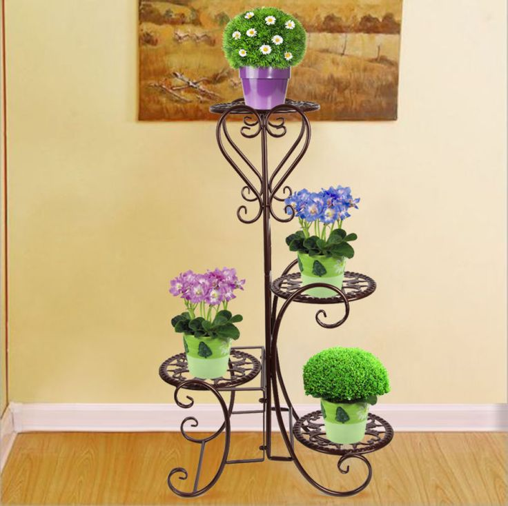 Best 7 Home & Garden-Plant Stand images on Pinterest | Wrought iron ...