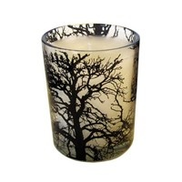 Lovely smelly candle in a stylish glass @mydeco