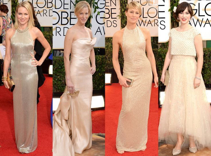 Shimmery Champagne from Red Carpet Trends from the 2014 Golden Globes | E! Online