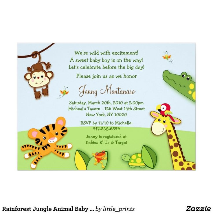 18 best jungle rainforest images on Pinterest | Baby showers, Baby ...