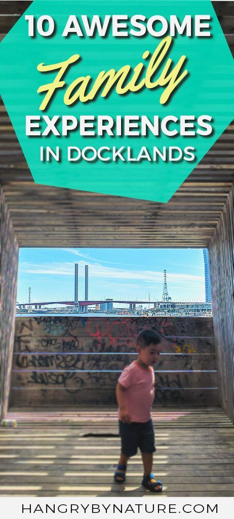 A list of must-dos for when you visit Docklands in Melbourne with kids. #Australia #Docklands #Melbourne #Victoria