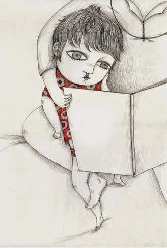 Leer. Ilustración de Chiara Fatti