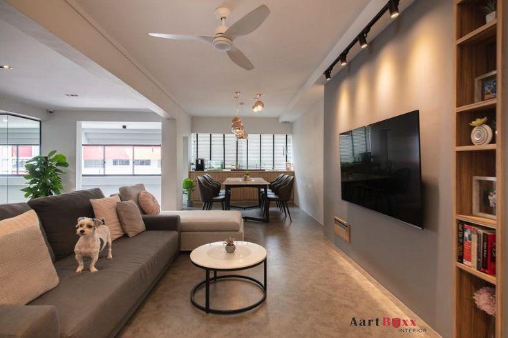 House Tour: $110K renovation of a modern minimalist jumbo ...