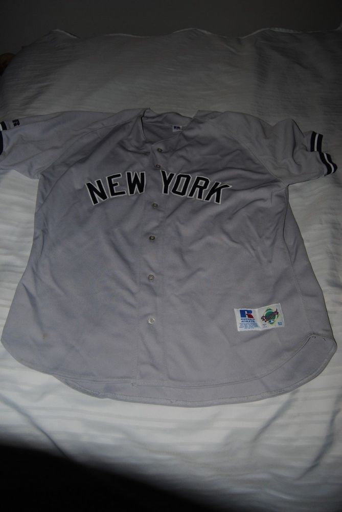 pretty nice 2eeff 2b1b3 New York Yankees Russel Athletic Road Jersey Size 52-XL ...