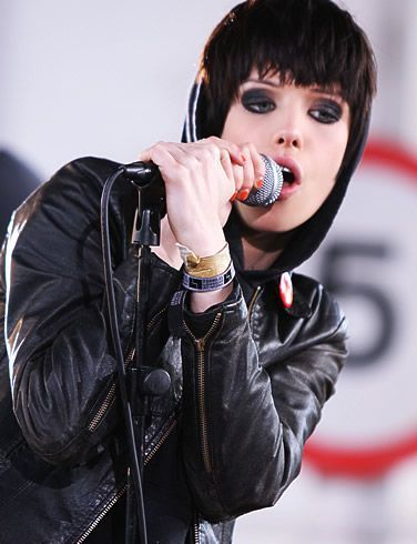 Alice Glass from Crystal Castles