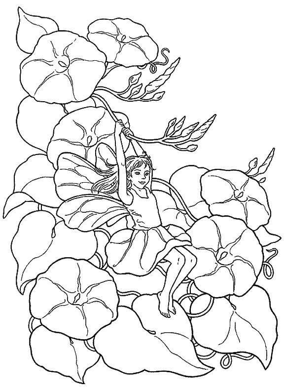 Fantasy Coloring Pages 18