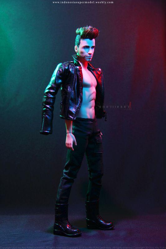 Liam Ken Doll barbie facemold