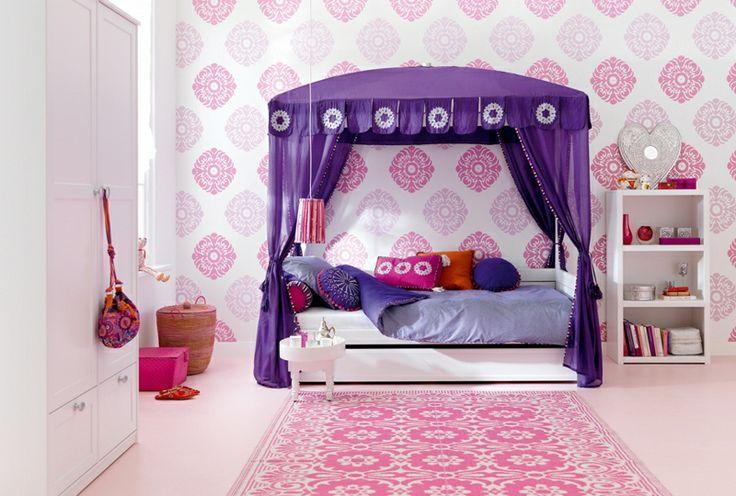 BADROOM - letto per ragazze a baldacchino