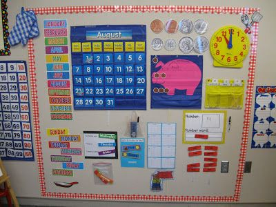 math in focus grade 2 math boards | Calendar {look for an upcoming post about how I conduct calendar!!!}