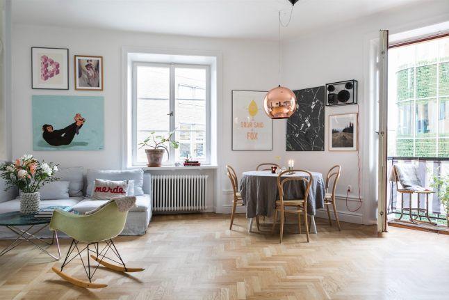 Un Appartement Suedois Familial Planete Deco A Homes World Appartement Architecte Interieur Maison