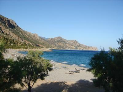 Paleochora in Crete still has a bit of that 'end of the hippy trail' vibe No beach umbrella's in 1974
