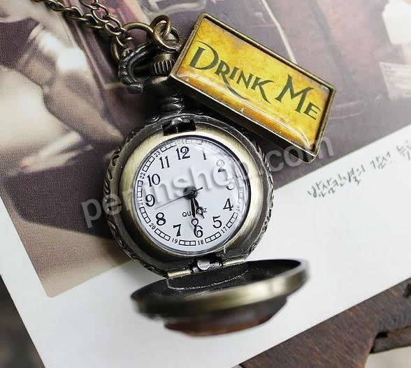 Mode Halskette Uhr