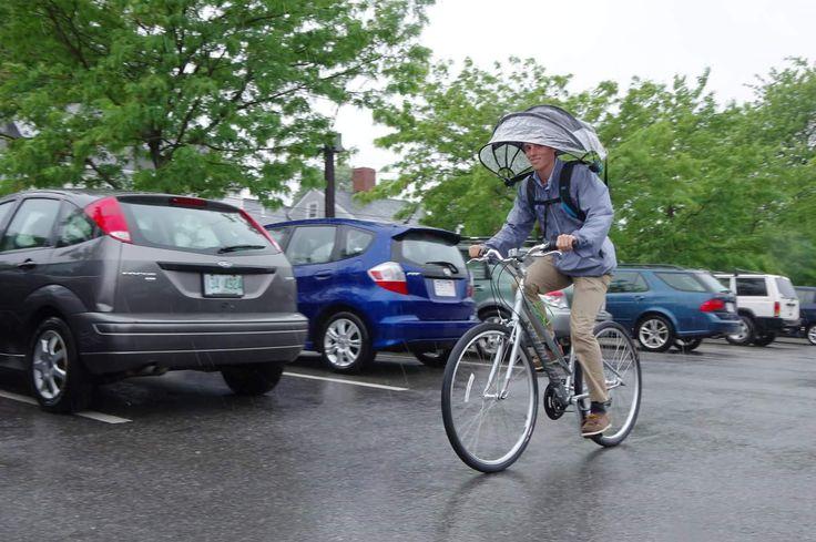 Nubrella - Hands-Free and Wind-Resistant Umbrella