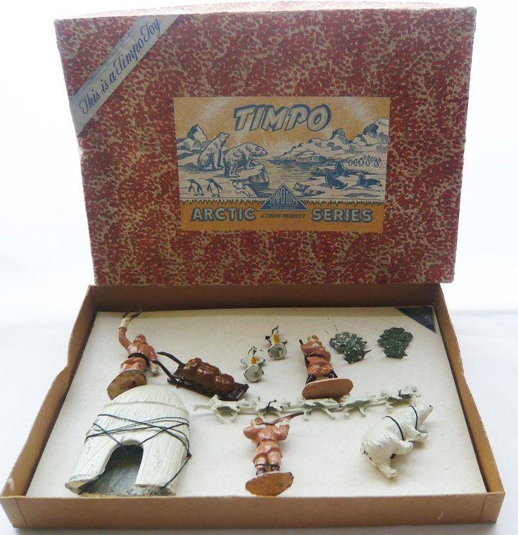 Timpo Arctic Set no. 1, boxed