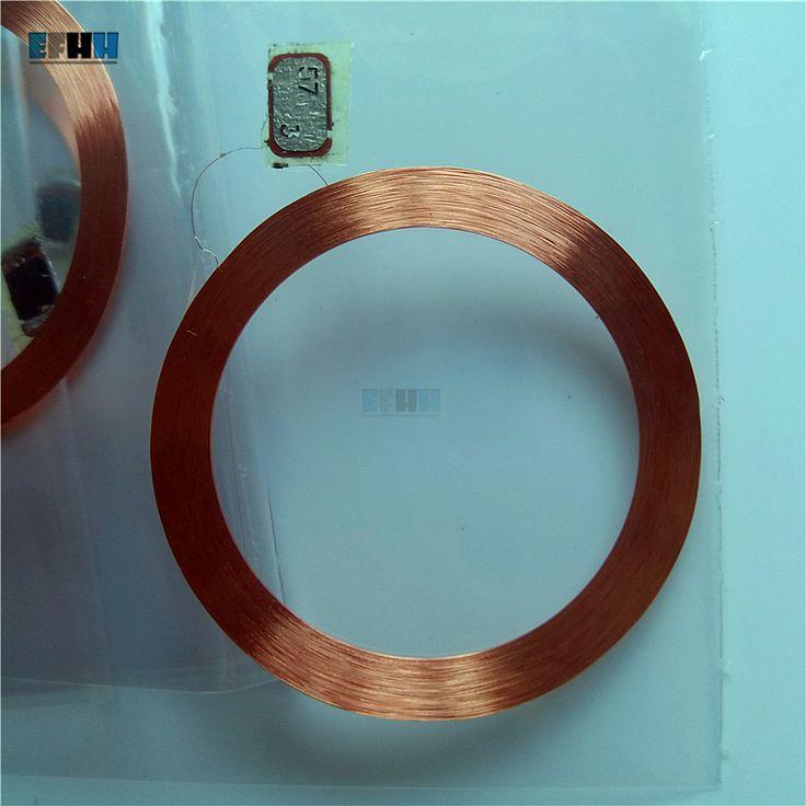125 KHZ T5577/T5557/T5567 Yeniden Yazılabilir RFID Etiketi Bobin + Çip Kart Erişim Kontrol Kartı Içinde Kakma (çapı 28mm)
