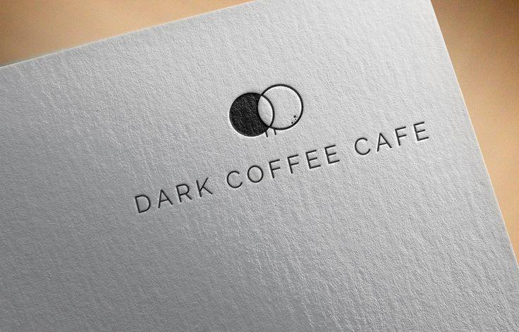Dark Coffee Cafe Logo Idea #creativity #art #vector #sold #1973 #mazda #808 #dealers #sales #manual #station #wagon #original #mazda808 #zoom #zoomzoom #japcar #ebay #automotive #needabrochure #gotbrochures #carbrochure #automobilia #newcastle #tamworth #country #music #festival #nsw #australia