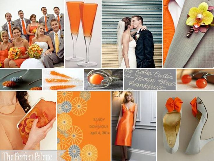 {Splash into Spring!}: A Palette of Orange, Yellow & Gray!